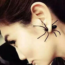 1pc Punk Women MEN Black Spider Ear Stud Cosplay Party Earrings Jewelry Gift
