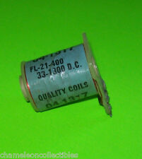 WILLIAMS SS PINBALL MACHINE NOS SOLENOID COIL FL-21-400-33-1300 FOR FLIPPERS