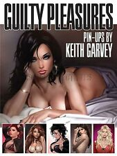 Keith Garvey Hand Signed Pin Up Art Book Guilty Pleasures