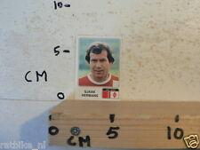 STICKER,DECAL VOETBAL 79 PANINI VOETBAL SOCCER ALBUM 316 SJAAK HERMANS FC VVV
