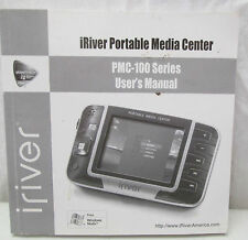 iRiver Portable Media Center PMC-100 Series User's Manual