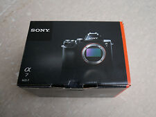 Sony Alpha a7 24.3MP Digital Camera - Black (Body Only) - Excellent!
