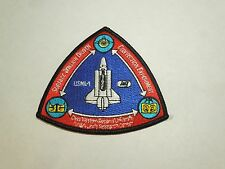 NASA USML-1 Space Tension Driven Convection Experiment Embroidered Iron On Patch