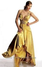 Deep V-Neckline Prom Dress by Jovani