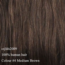 Full Head Or Highlight One Piece Clip In Remy Human Hair Extensions Hair pieces