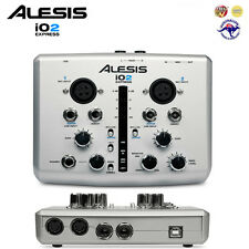 Alesis iO2 Express Audio MIDI USB Interface (+ Cubase LE) *BRAND NEW*