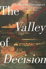 The Valley of Decision by Marcia Davenport (2015, Paperback, Reprint)