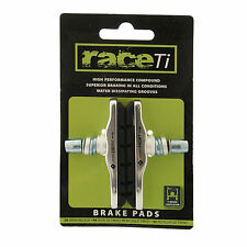 V Brake Cartridge fit Shimano XTR XT 70mm High Performance Brake Pads by raceTi