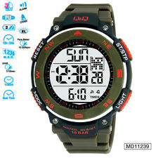 Q&Q Digital Strap Sports Watch for Men & Boys M124J003Y
