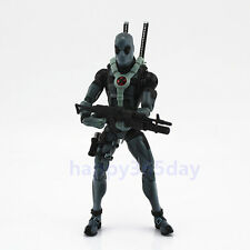 "RARE Marvel Legends 6"" X-Men Deadpool Gray Suit Action Figure Loose"