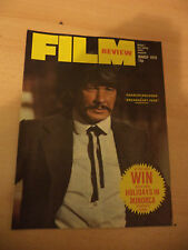 FILM REVIEW OLD VINTAGE 1970S MOVIE MAGAZINE MARCH 1976 CHARLES BRONSON