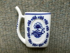 Antique porcelain sipping Spa mug - Czechoslovakia