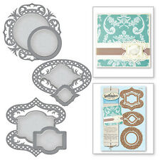 Spellbinders Shapeabilities: Fancy Framed Tags 4 (S4-530)