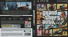 Grand Theft Auto V Gta-Juegos Ps3 Sony-Disco solamente Zxe
