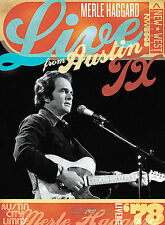 Merle Haggard - LIVE FROM AUSTIN, TX '78 (DVD, 2008)