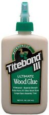 Franklin International 1412 Titebond III Ultimate Wood Glue, 4-Ounces