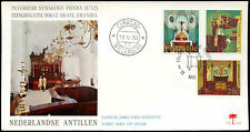 Netherlands Antilles 1970 Churches FDC First Day Cover #C26621