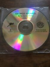 ❣RARE❣U.S EPIC/AEGEAN DEMO CD Selections From Twenty Five~George Michael (Wham)