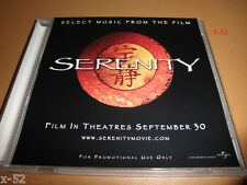 New listing Serenity firefly movie Cd Cd-R 4 track Promo from soundtrack joss whedon