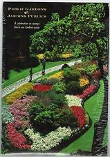 1991 THEMATIC COLLECTION # 49 PUBLIC GARDENS CANADA STAMPS + FDC + 5 POSTCARDS