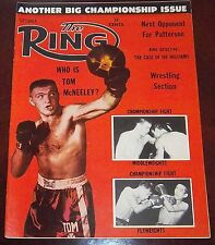 The Ring Magazine September 1961 Tom McNeeley Collectable