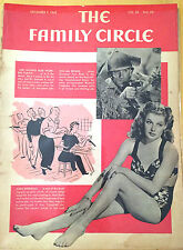 Antique Family Circle Magazines, Women in Workplace, 1940s – Set of 3/ $24