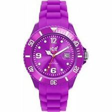 NIB ICE Forever Sili Collection Resin & Silicone Strap Purple Watch