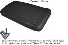 CARBON FIBRE VINYL CUSTOM FITS HONDA VTR RVT 1000 RC51 SP1 REAR SEAT COVER