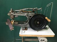 Pearson 6 Harness Leather Saddle Industrial Sewing Machine British United Shoe