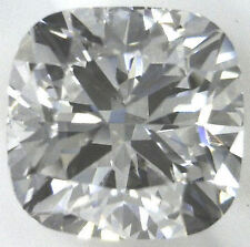 1.01 carat CUSHION cut DIAMOND Loosse GIA cert D color VVS2 clarity no fl. IDEAL