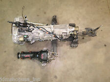 JDM Subaru WRX 5 Speed M/T Transmission TY754VB5AA & Rear Differential 4.44 FD