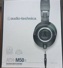 Audio-Technica ATH-M50X Professional Studio Headphone w/ Slappa Case (Brand New)