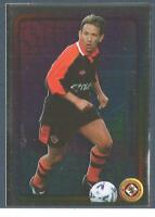 PANINI SCOTTISH PREMIER LEAGUE 2000- #132-DUNDEE UNITED-BILLY DODDS-SILVER FOIL
