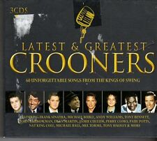 (FD451B) Latest And Greatest Crooners, 60 tracks various artists - 3 CDs - 2010