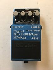 Boss Roland PS-2 Digital Pitch Shifter / Delay Rare Vintage Guitar Effect Pedal