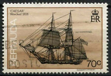 Bermuda 1986-1990 SG#517cA 70c Ship Definitive Used #D22423