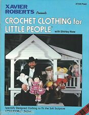 Crochet Clothing for Little People Cabbage Patch Xavier Roberts Vintage Book NEW
