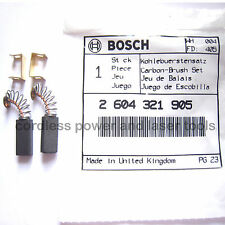 Bosch Carbon Brushes for PSB 420 RE Drill Genuine Original Part 2 604 321 905