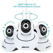 KKMOON 1080P H.264 2MP Camera P2P Pan Tilt IR Cut WiFi Wireless IP Webcam W-EU
