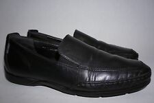 Men's Mephisto Loafers Edlef Black Leather US 11 Goodyear Welt