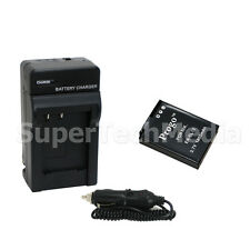 New Battery & Charger Combo Kit for Nikon EN-EL12 Coolpix S9300 S9100 S8200