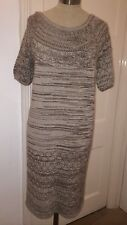 Genuine - CHLOE - Knit - Jumper Dress - Beige & Brown - Size S