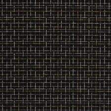 SUNBRELLA OUTDOOR Black Check Upholstery Fabric- Plaza/Onyx By The Yard BTY