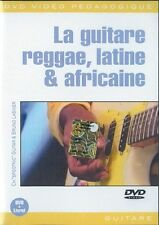 GUITAR CHARLIE SPOOTNIC GUITARE REGGAE LATINE & AFRICAINE MUSIC DVD FRENCH