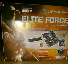 Elite Force i7-6700 CPU 8GB Ram Platinum Tarjeta Madre, Procesador, Memoria y 32GB SSD