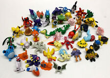 Nintendo Pokemon Monsters 140 pcs Miniature Action Toy Figure Set 2-4cm Cake Top