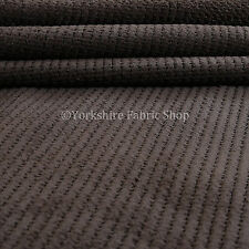 Plain Brown New Soft Texture Plush Corduroy Quality Durable Upholstery Fabric