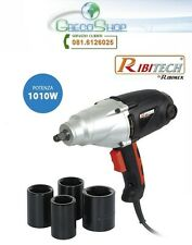 Avvitatore pneumatico ad impulsi elettrico 1010W in valigetta Ribitech PRCCEKIT5