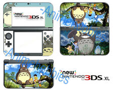 Totoro My Neighbor Vinyl Skin Stickers Decals Cover for Nintendo New 3DS XL 2015