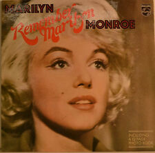 "MARILYN MONROE -REMEMBER MARILYN MONROE 12"" LP (W 100)"